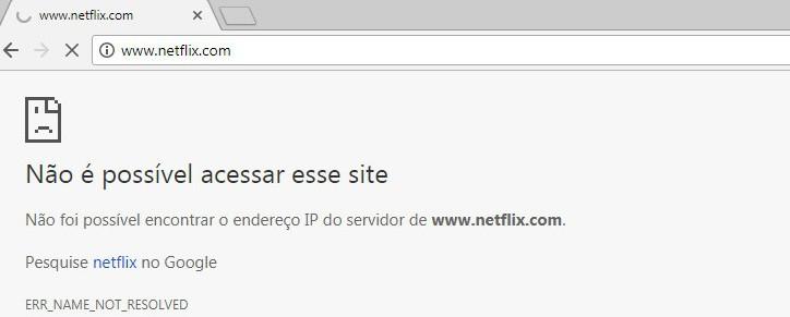 Block netflix Browser