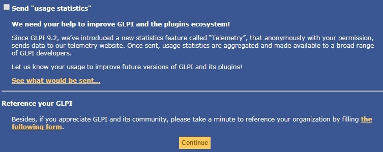 glpi data collection