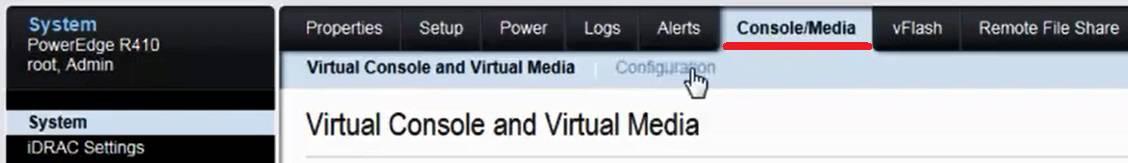 idrac virtual media