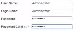 ilo change default password