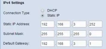 wap321 ip configuration