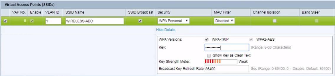 wap371 password