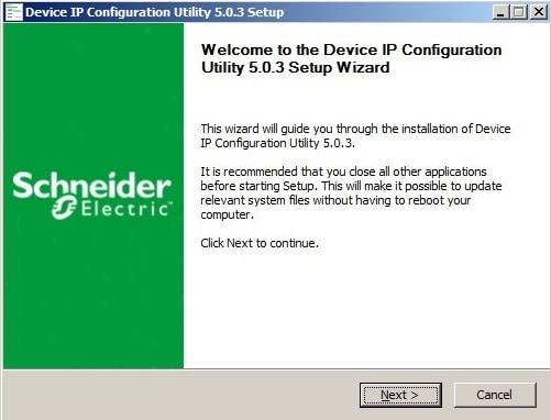APC UPS Device IP Configuration Utility
