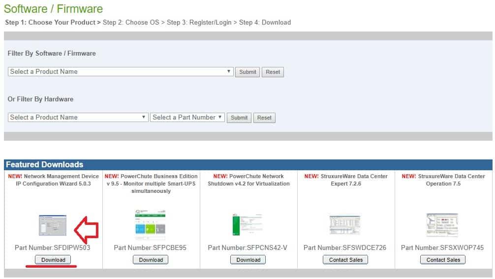 APC UPS IP Configuration