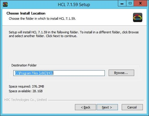 HP Network Simulator Installation path