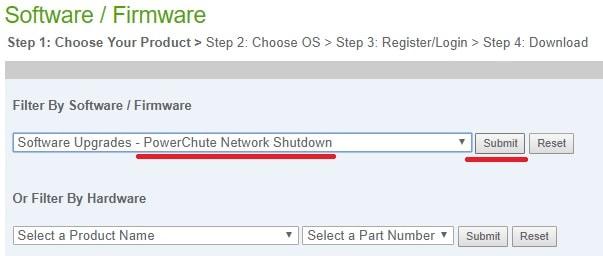 PowerChute Network Shutdown Download