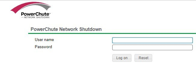 PowerChute Network Shutdown