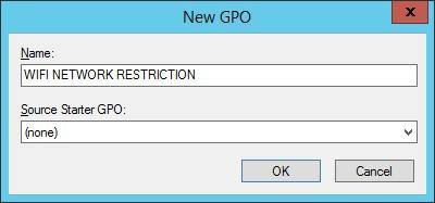 gpo - wifi network restriction
