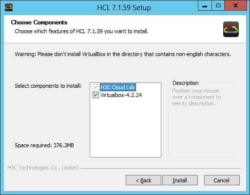 hp network simulator components