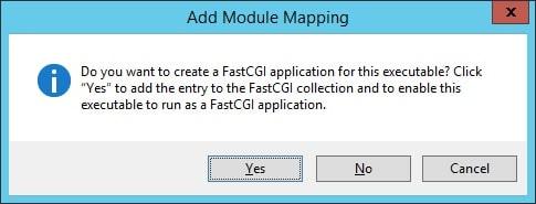 IIS Module mapping