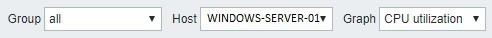 Zabbix Windows Graphic