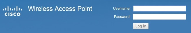 Cisco Access Point Login