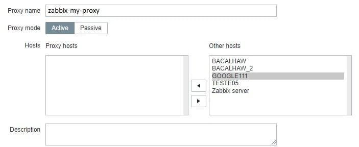Zabbix Proxy