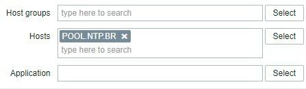 Zabbix UDP Service Filter