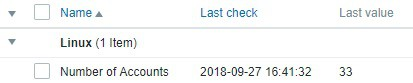 Zabbix Userparameter Result