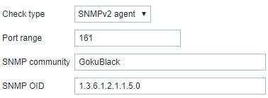 Zabbix auto discovery SNMP check