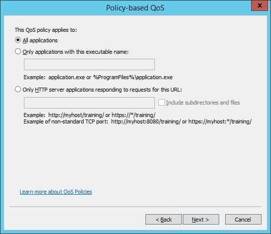 Windows Qos All Applications