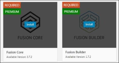 Avada plugins installation