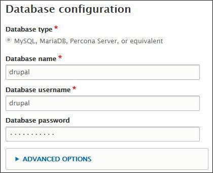 Drupal Database connection