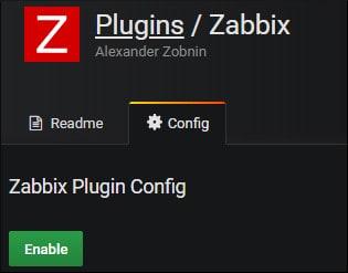 Grafana Zabbix Plugin