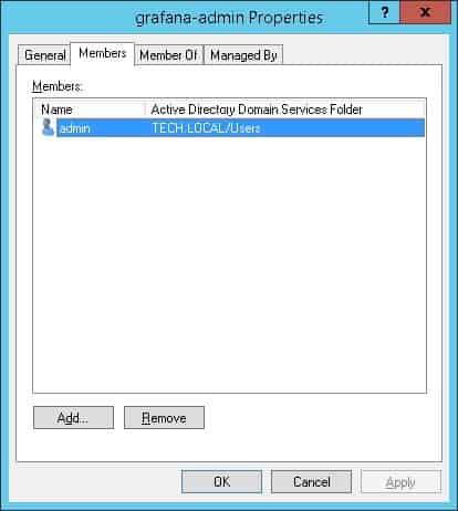grafana ldap activedirectory memberof