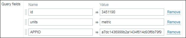 Zabbix Json query example