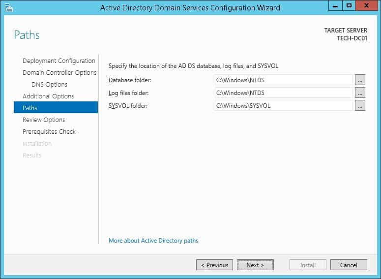 active directory paths