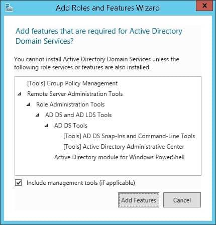 active directory windows installation