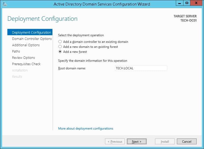 deployment active directory