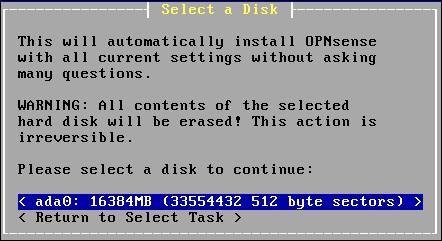 opnsense disk part