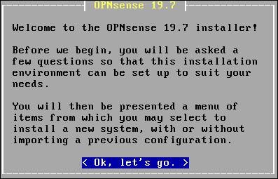 opnsense install screen