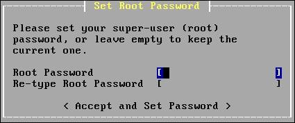 opnsense root password