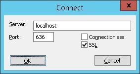 Windows ldp ssl connection