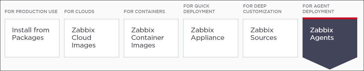 Zabbix download agent msi