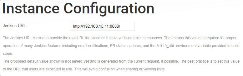 jenkins installation url