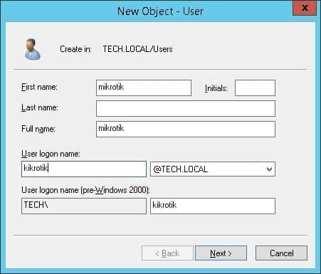 mikrotik ldap active directory