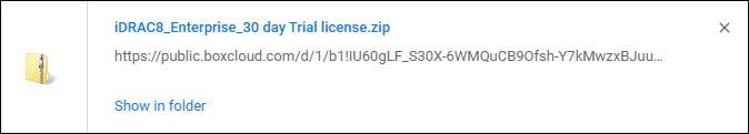 idrac licence download