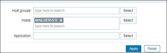 zabbix monitoring smtp service