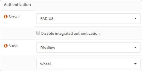 opnsense radius authentication