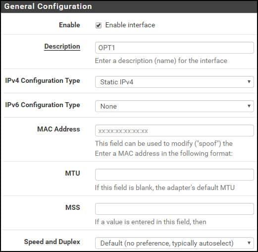 pfsense link aggregation configuration