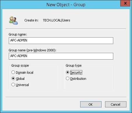 APC UPS Active directory