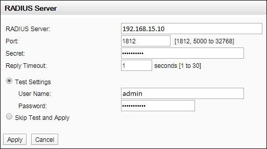 apc radius authentication