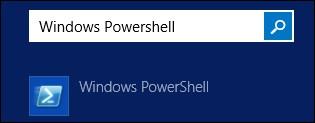 Powershell on Start menu