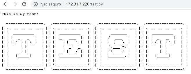 IIS - Python web page