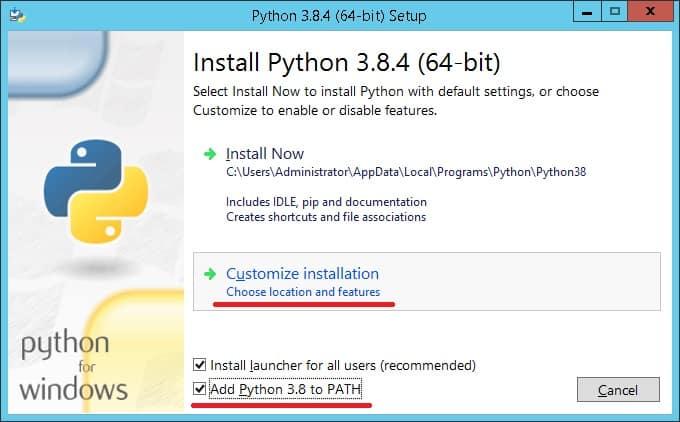 Python Installation Windows