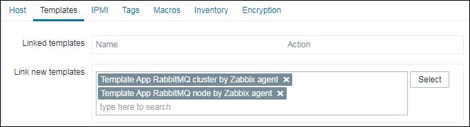 Zabbix Rabbitmq monitoring