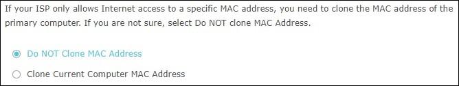 AC1200 - INICIAL CONFIGURATION - MAC CLONE