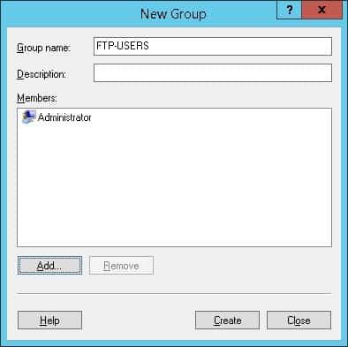 Windows - FTP Users