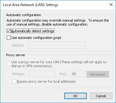Disable proxy configuration GPO