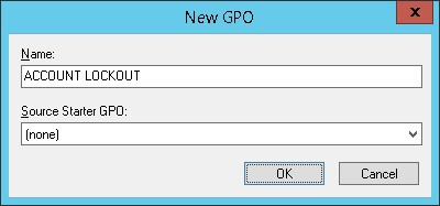 GPO ACCOUNT LOCKOUT POLICY